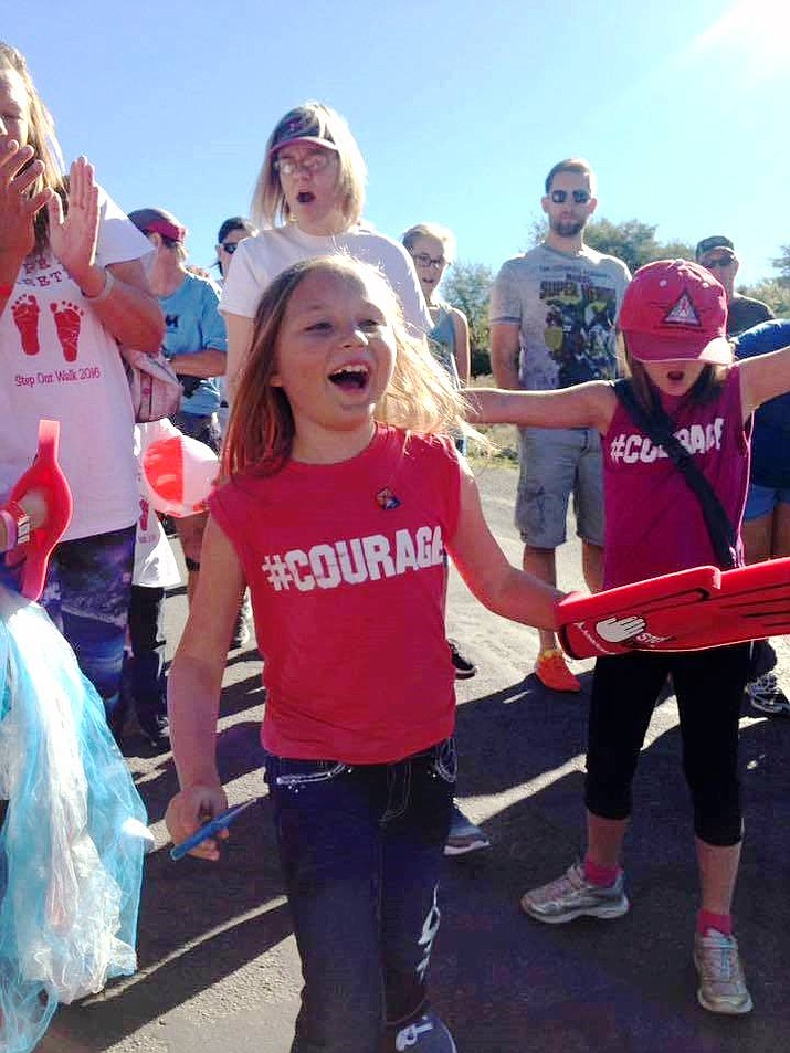 Eryn McElhattan of Prescott Valley is leading a team of friends and family in the American Diabetes Association's Step Out: Walk to Stop Diabetes Saturday, Oct. 14, in Prescott. (American Diabetes Association/Courtesy)