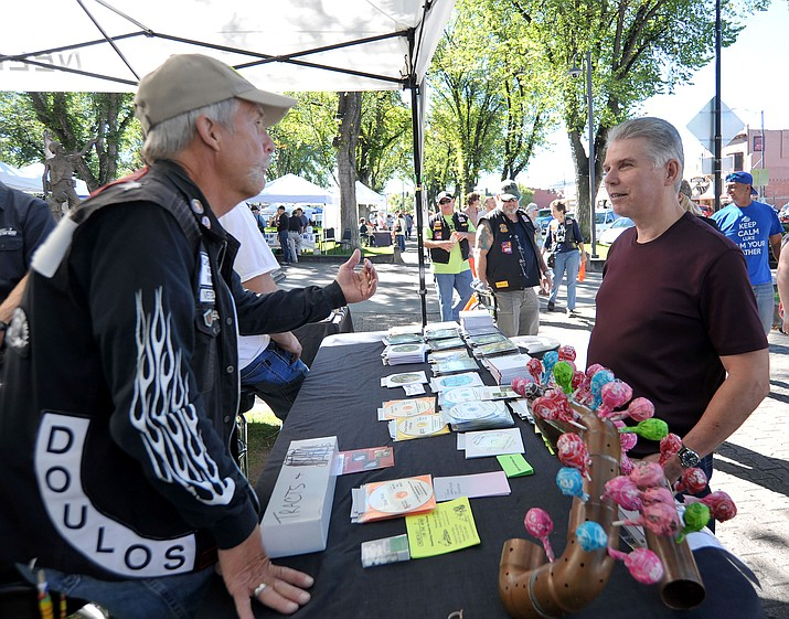 The sixth annual Hope Fest kicks off at 10 a.m. Saturday, Oct. 14, and runs through 8 p.m. at the courthouse plaza in downtown Prescott. The event is free to the public and is dedicated to helping veterans.