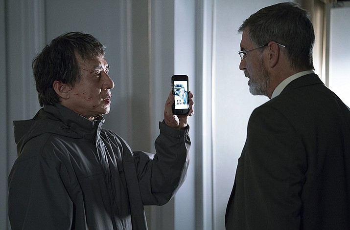 "Jackie Chan and Pierce Brosnan star in ""The Foreigner."" (Courtesy)"