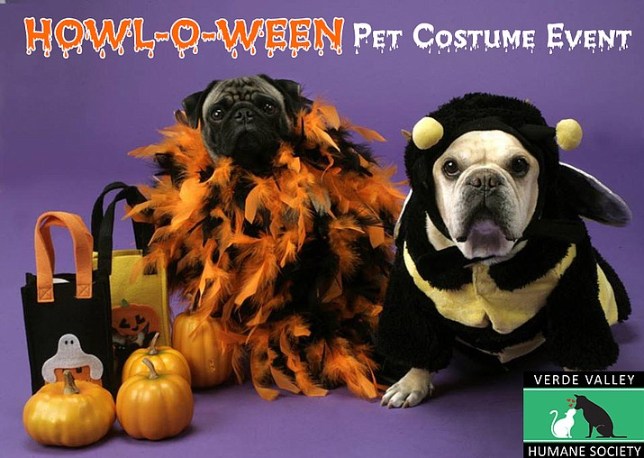 The Verde Valley Humane Society invites you to their Howl-O-Ween Pet Costume Event on Saturday, Oct. 28.