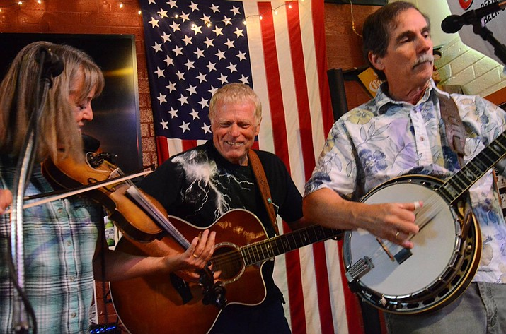 The grassy Roots-Americana trio Thunder & Lightnin' returns to Far From Folsom Sunday, Oct. 15. (Courtesy)
