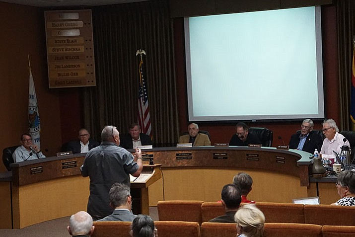 Council hearing thoughts and opinions on Deep Well Ranch development. (Courtesy)