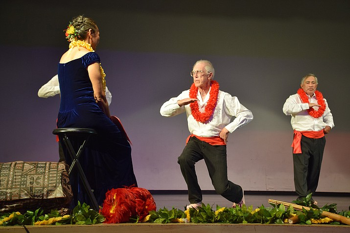 The 14th annual Ho`ike (hula exhibition show) presented by Halau Hula Napuaokalei`ilima is offering authentic Hawaiian Hula, culture and music. Kumu Hula Kehau Chrisman invites you to join the Halau (school)  Nov. 4 at the Phillip England Center for the Performing Arts in Camp Verde. (Courtesy Photo)