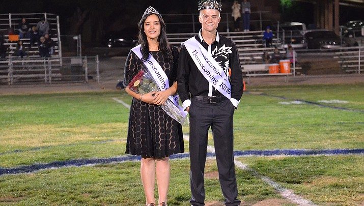 Camp Verde High crowns Queen, King at Homecoming game