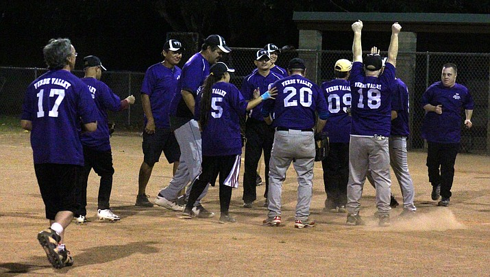 Verde Valley softball teams play before cheering crowd
