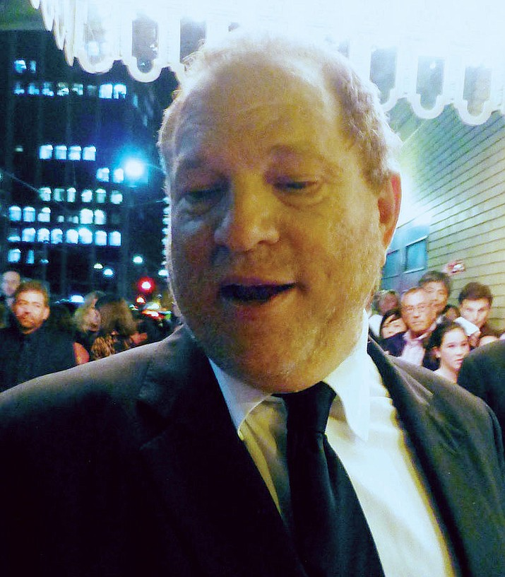 "Weinstein at the 2013 Toronto Film Festival for the premiere of ""Third Person."""