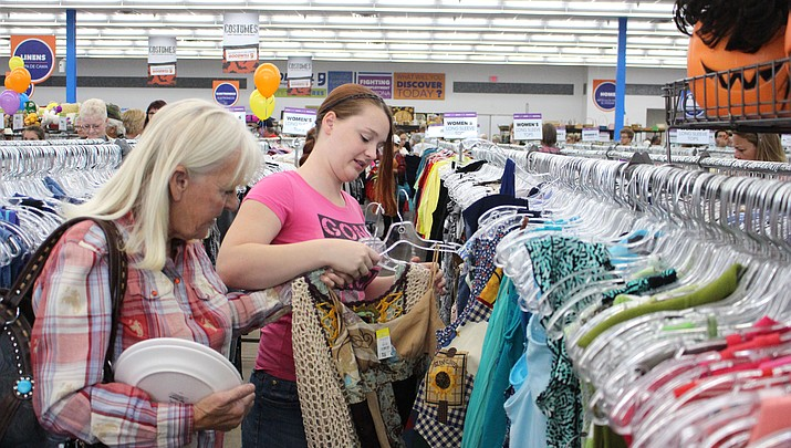 Goodwill's grand opening at the new location is a huge success