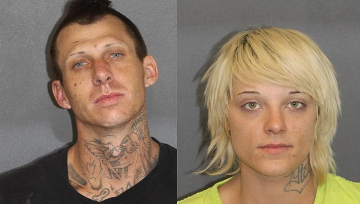 Suspects found outside travel center passed out, covered in meth pipes