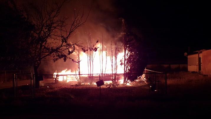 Kingman area firebug strikes again