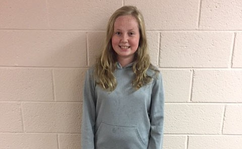Reagan Puckett is a sixth-grader at Mountain View Elementary in the Humboldt Unified School District who was just elected student council president. She aspired to move into the presidency after a year learning the ropes as vice president.
