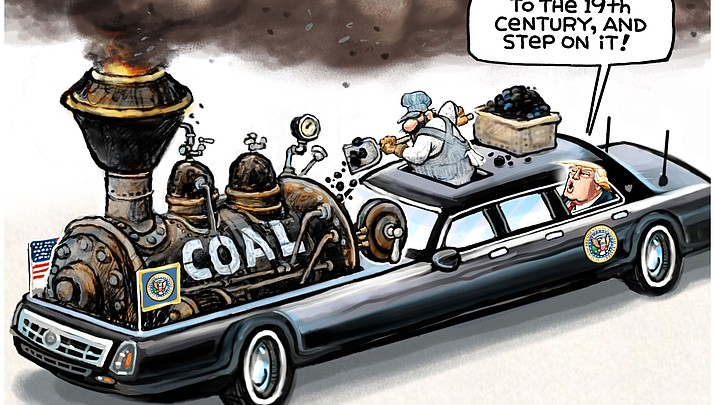 Editorial Cartoon (a) Oct. 18, 2017