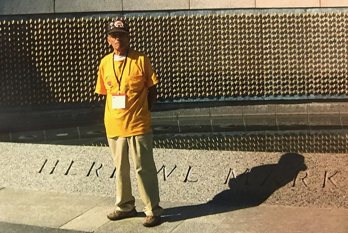 With help from Honor Flight Arizona, a non-profit that flies World War II and Korean War veterans from Arizona to Washington, D.C., Verde Valley resident and Korean War Veteran Angel Vargas, took a three-day trip to see United States memorials at no cost to him. (Courtesy photo)