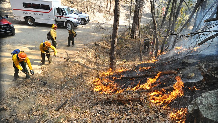 Two wildland fires in two days