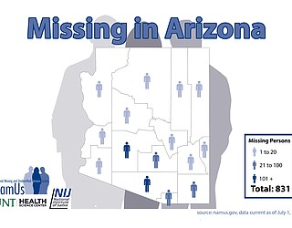 Missing in Arizona Day, Oct  21, aims to help families find