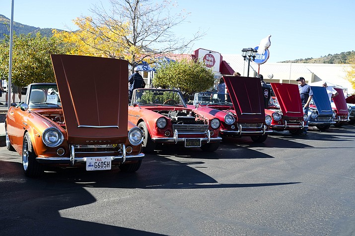 Classic Datsun owners returned to Williams Oct. 7 for the seventh annual Datsun Car Show.