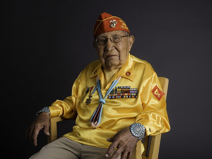 Earl Patterson, Sr., 94, passed away Oct. 8 in New Mexico. Patterson served in the U.S. Marine Corp as a Navajo Code Talker during WWII. Submitted photo