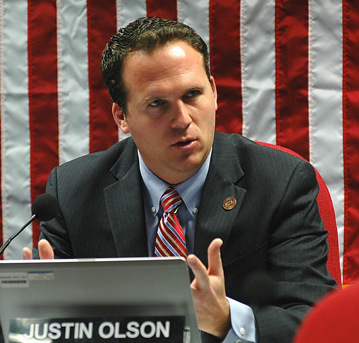 Former state Rep. Justin Olson, appointed to the commission by Gov. Doug Ducey. (Capitol Media)