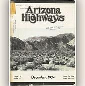 ADOT seeks copy of December 1930 issue of Arizona Highways photo