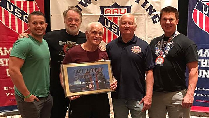 Kingman's Ancient Iron finished in first place and set five world records Sept. 15-17 in Las Vegas.