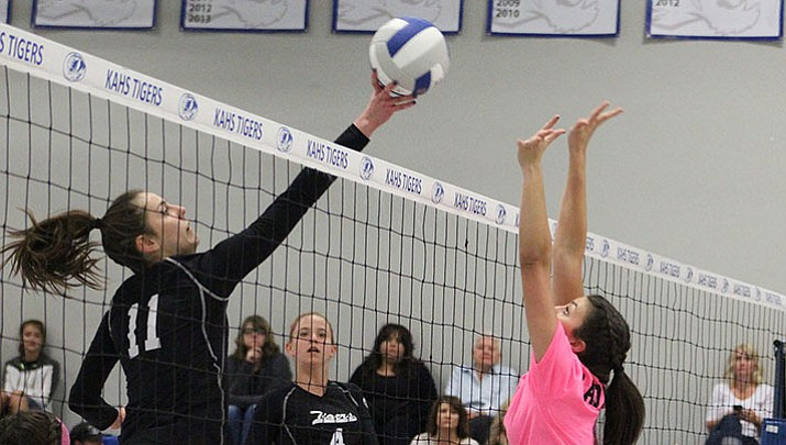 Prep Volleyball: Lady Tigers get first win over Lady Vols