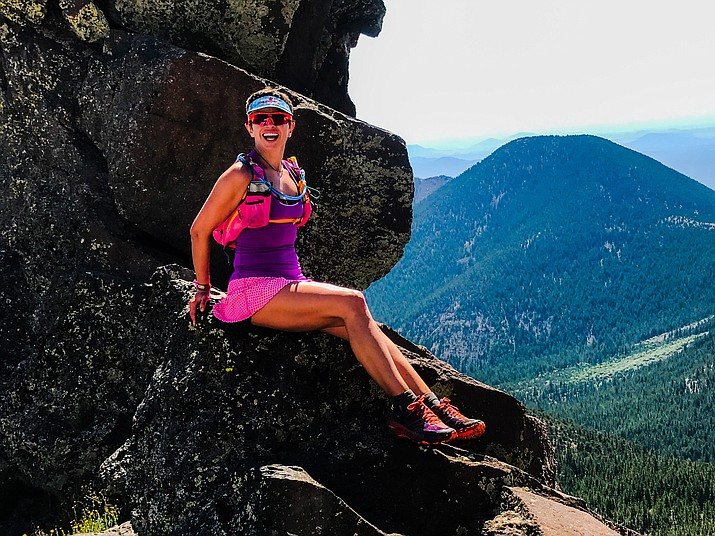 "Resolutions, small and big, can be made any time of the year and any time of the day, says Magdalena Romanska. ""In fact, the first time I remotely though of running an ultra-marathon, therefore deciding to train for it, was a middle of the night in December."" (Photo courtesy of Magdalena Romanska)"