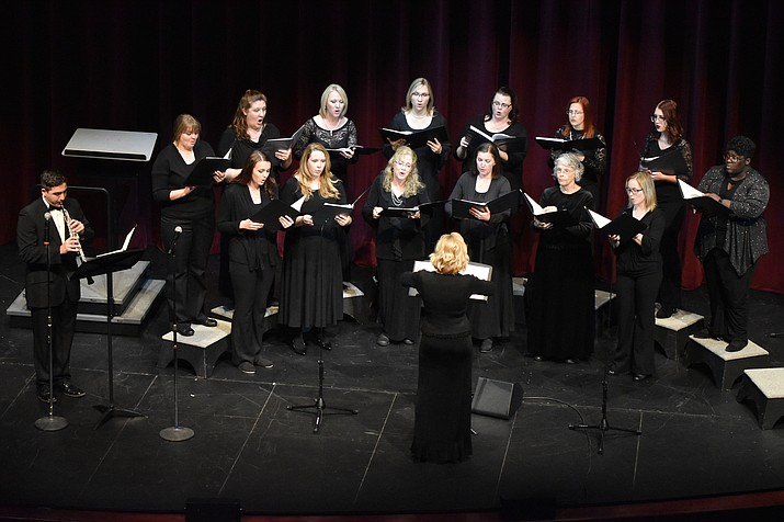 The Women's Chorale will perform in the Cathedral Classics concert at 3 p.m. on Sunday, Oct. 22, at Yavapai College Performing Arts Center. (Courtesy)