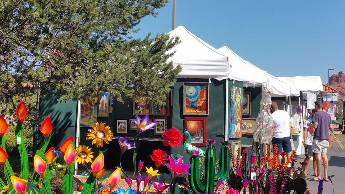 Oak creek arts crafts show continues sunday the verde for Art craft shows