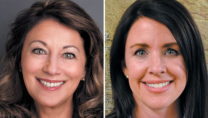 Mayor Monica Gates and Councilwoman Jamie Scott Stehly