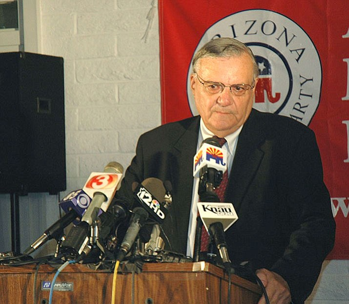 Former sheriff Joe Arpaio's bid to have all of his criminal record conviction wiped out failed when Judge Susan Bolton rebuffed his claim that his pardon should wipe his entire conviction clean.