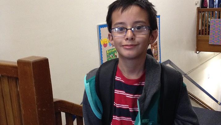 PUSD Student of the Week: Brandon Carreno Figueroa