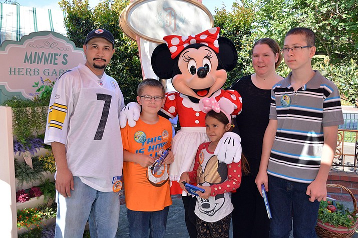 Grand Canyon residents had the opportunity to visit Disneyland earlier this month.