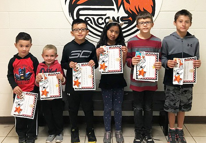 Williams Unified School District announced the September Students of the Month. They include: Nahim Ramirez, Gracen Chase, Alexander Arrendondo, Ma.Bea Raivala, Dylan Fitzgerald, Joseph Arrey, Leslie Urias and Caleb Belden.