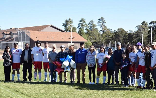 Photo highlights: Grand Canyon school celebrates fall, honors senior athletes