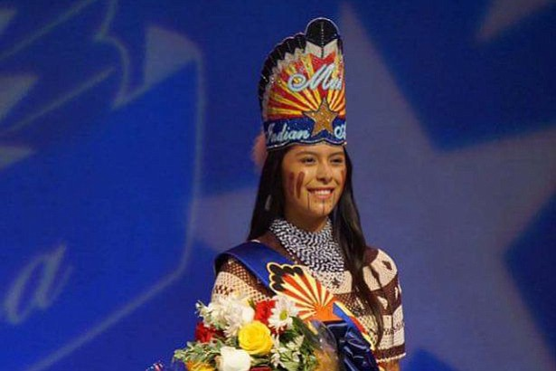 Mariah Sharpe was named Miss Indian Arizona 2017-18.
