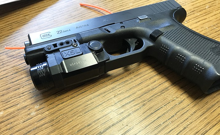 Officers with Williams Police Department will test gun-mounted cameras during a 30 day trial period.
