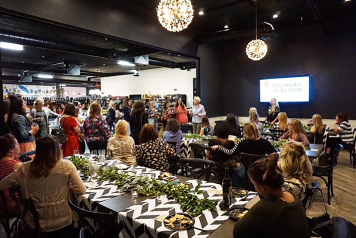 About 50 to 60 local moms showed up at a Mothers in Bloom mixer this past week, Oct. 18.