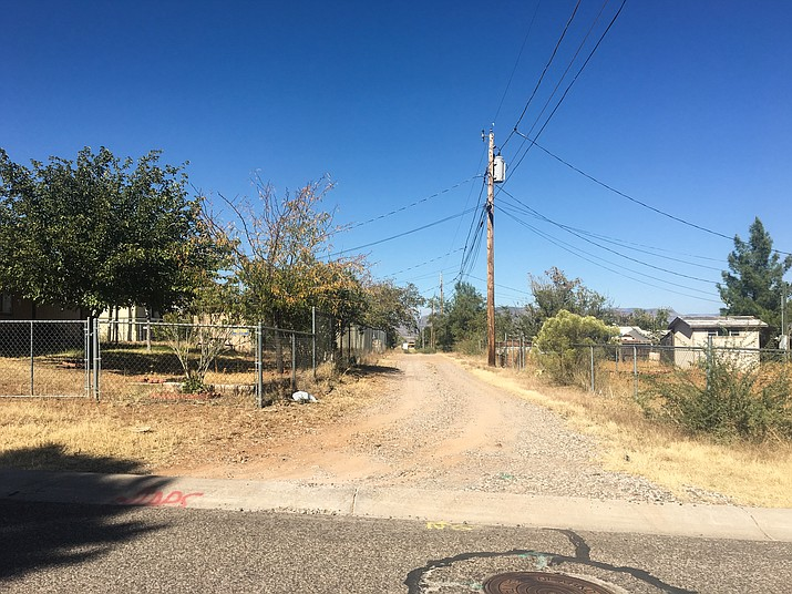 Freeport Mineral Corporation intends to replace the soil in several areas tested to have high concentration of metals. Areas that were tested in August include the alleys west of Calle Rosas in Centerville, owned by Clarkdale. (VVN/Halie Chavez)