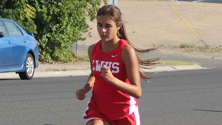 Lee Williams' Meah Wilson ran a 20:30.9 to take seventh place Thursday at the AIA Sectionals Rose Moffard in Glendale.