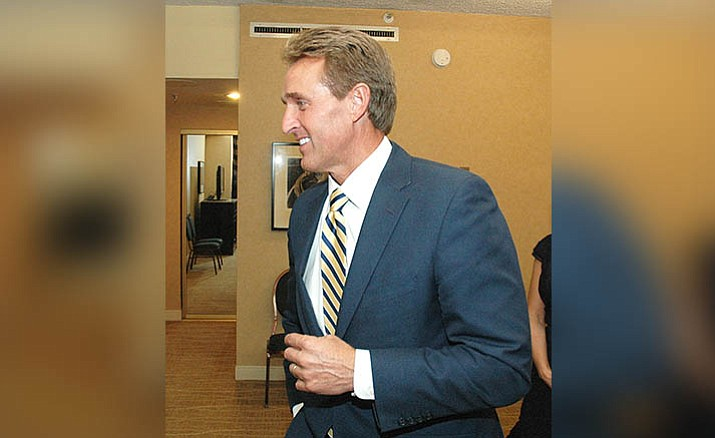 Sen. Jeff Flake (Capitol Media Services 2014 file photo by Howard Fischer)