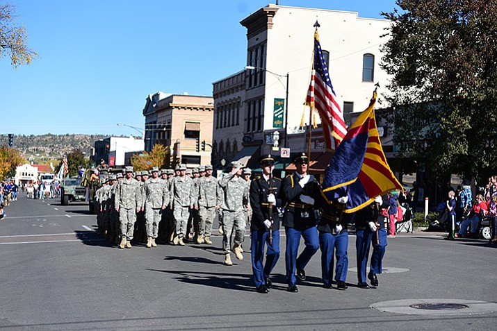 The 2017 Veterans Day Parade will honor all who serve and have served in our nation's 