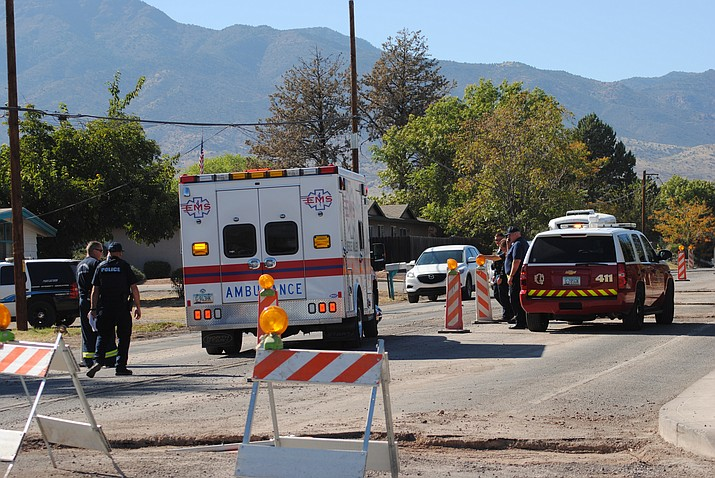 2 transported after motorcycle accident | The Verde