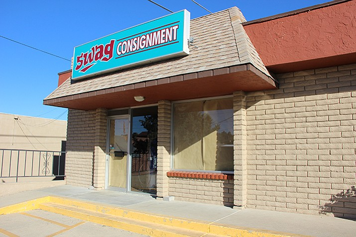 A new shop called Swag Consignment is hosting its grand opening on Saturday, Nov. 4. (Max Efrein/Courier)