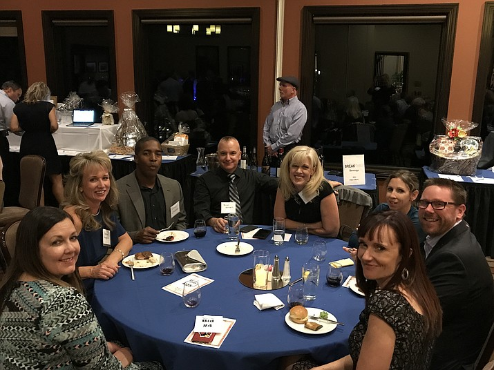 Attendees enjoy the second annual PUSD Education Foundation Sip and Savor fundraising event. (PUSD/Courtesy)