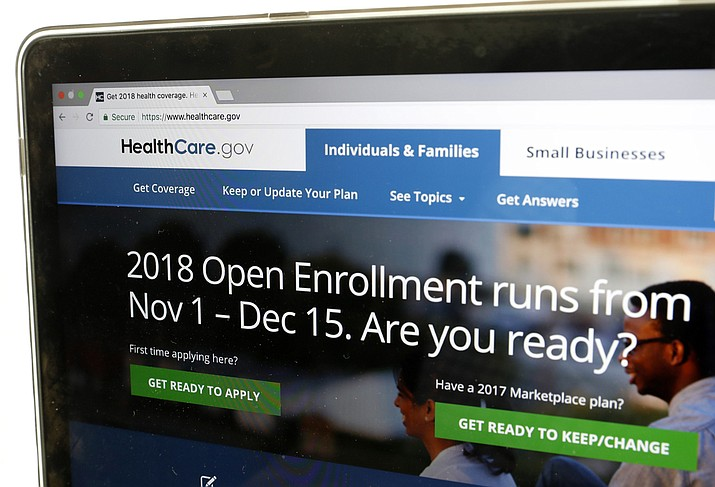 For this year's Affordable Care Act sign-up season the Trump administration is cutting the enrollment period in half, slashing advertising and dialing back on counselors who help consumers get through the process.  (AP Photo/Alex Brandon)
