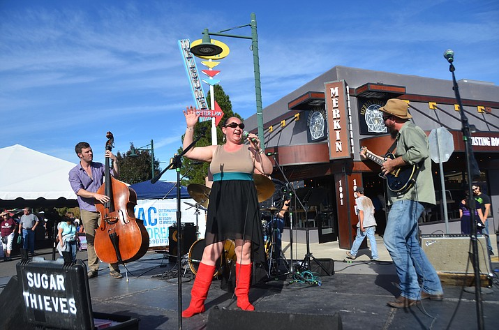 "The City of Cottonwood is celebrating Historic State Rout 89A and the Verde Valley with ""Walkin' on Main"" Nov. 11 from 11 a.m. to 5 p.m.  The event takes place in Old Town Cottonwood and includes wine tasting, historic displays, a classic car show, art exhibits, and live music. (VVN/File Photo)"
