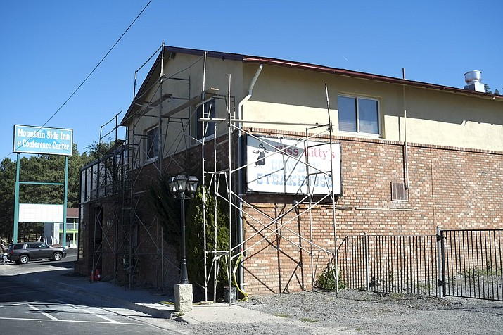 Mountain Side Inn and Miss Kitty's restaurant and bar are currently undergoing renovations under new ownership and management.