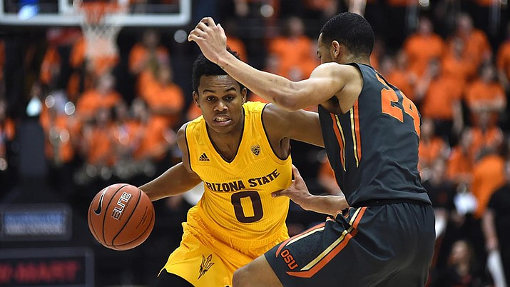Arizona State's Tra Holder is one of three senior guards who will be key for the Sun Devils during the 2017-18 season.