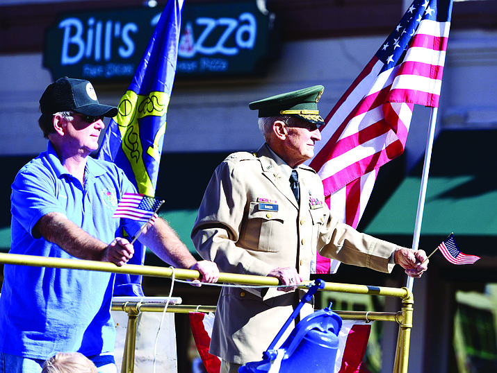 The Veterans Day Parade is Saturday, Nov. 11, in downtown Prescott. Opening ceremonies begin at 10:30 a.m. (Courier File)