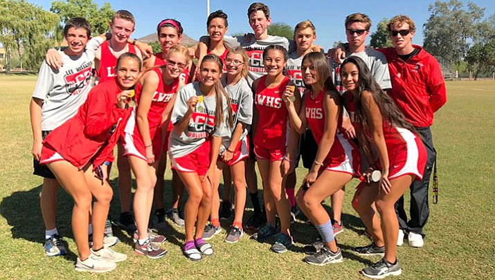 The Lee Williams cross country teams will compete in Phoenix Saturday. It's the first trip in program history for the Lady Volunteers.