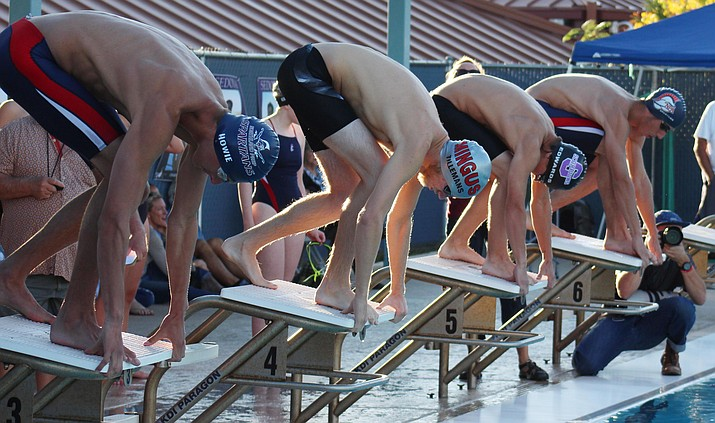 Mingus senior Gunner Tillemans heads to the state meet ranked third in the 100 Free and eighth in the 50 Free. (VVN/James Kelley)